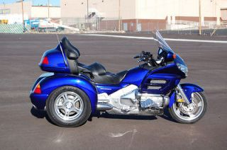 Gold Wing 2002 Honda Goldwing GL1800 Trike Purple L2964A Champion Kit