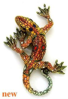 red lizard wall art with jewels mirrors home decor time