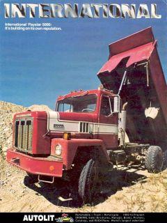 1978 international paystar 5000 mixer truck brochure
