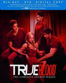 True Blood The Complete Fourth Season (Blu ray Disc, 2012, 7 Disc Set