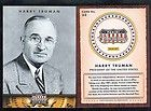MO DIED IN KANSAS CITY MO 2 HARRY TRUMAN AMERICANA 2012 CARDS SEE