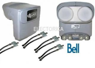 QUAD TWIN DPP BELL EXPRESS VU PRO DP PLUS LNB HDTV HD DISH NETWORK 4X