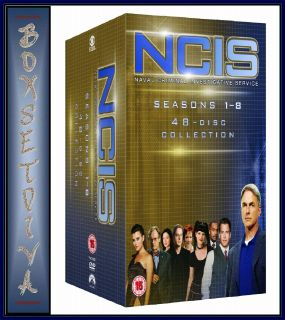 COMPLETE SEASON SERIES 1 2 3 4 5 6 7 & 8 **BRAND NEW DVD BOXSET