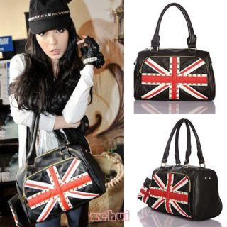 Ldays Women Union Jack British flag Riet Handbag Shoulder Bag Tote