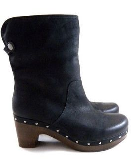 New UGG Australia Lynnea Black High Tall Winter Boots Womens/Lady