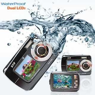 Newly listed SVP 18MP Max. UnderWater Digital Camera + Video w/ Dual