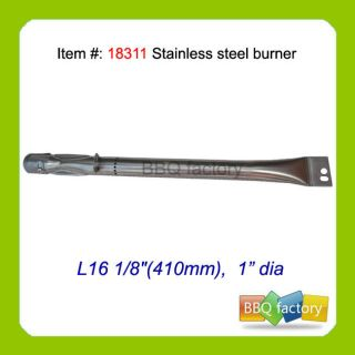 uniflame barbecue gas grill replacement stainless steel burner 18311