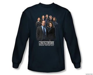 Officially Licensed Law & Order Special Victims Unit Team Long Sleeve
