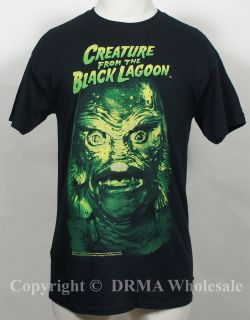 UNIVERSAL CREATURE FROM THE BLACK LAGOON Creature Head T Shirt S M L