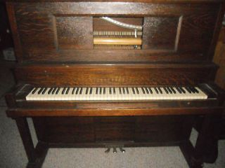 upright antique piano reduced time left $ 725 00 0