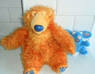 15 BEAR IN THE BIG BLUE HOUSE & 6 HIGH TUTTER MOUSE SOFT PLUSH TOYS