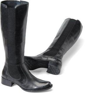 women s born riding boot valentina black leather b51403