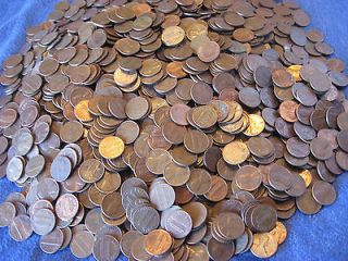 copper pennies in Coins & Paper Money