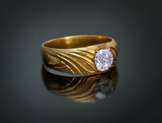 mens antique diamond ring in Vintage & Antique Jewelry