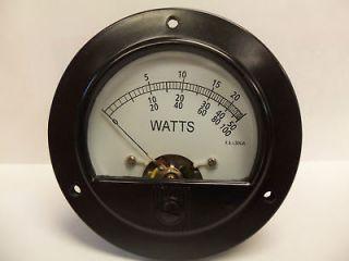 bird 43 thruline 30ua replacement wattmeter meter face time left