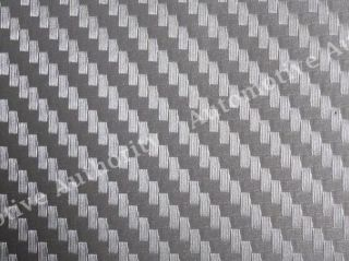 SILVER Carbon Fiber Vinyl Sheet Wrap Hood Roof Trunk 5x5 ft MERCEDES