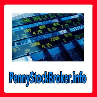 Penny Stock Broker.info WEB DOMAIN FOR SALE/BLUE CHIPS/INVESTING/TRADE