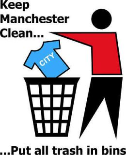 keep manchester clean funny football united t shirt
