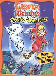 Casper and Wendys Ghostly Adventures DVD, 2002