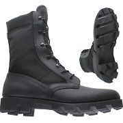 wellco black jungle boot mega bite sole 0620