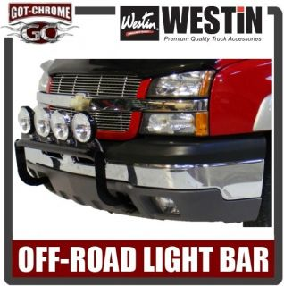 37 03615 Westin Black Off Road Light Bar Silverado / Sierra HD 2011