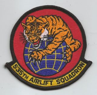 535th airlift squadron patch  7 99 buy
