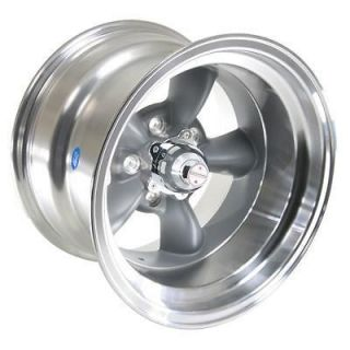 American Racing Torq Thrust D Gray Wheel 15x10 5x5 BC Set of 4