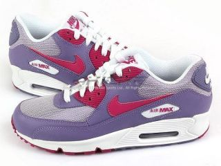Nike Wmns Air Max 90 Purple Earth/Rave Pink White Casual Running 2012