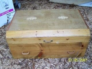 handmade extra large animal dog casket coffin white pine pet