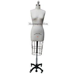 Professional Dressmaker Dress Form with Collapsible Shoulders Size 6