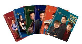 Two and a Half Men The Complete Seasons 1 6 DVD, 2009, 24 Disc Set