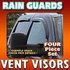 Smoke Vent Visor 2006 2008 Dodge Ram Mega Cab Side Window Deflector