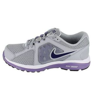 nike wmns dual fusion run wolf grey purple womens us