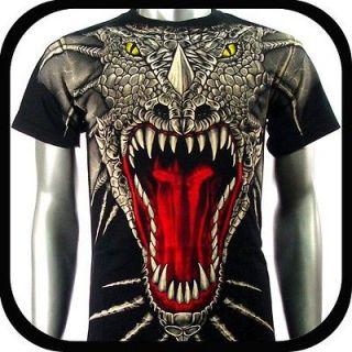 Rock Eagle T Shirt Limited Edition Tattoo E14 Sz L Dragon Heavy Metal