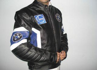 Newly listed BMW Motorcycle Leather Jacket Motorbike Biker Racing