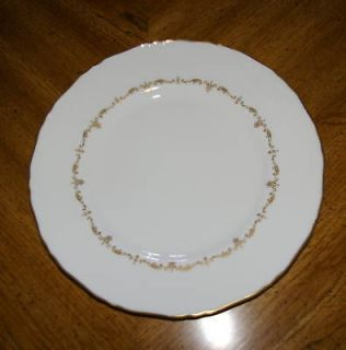 royal worcester gold chantilly dinner plate 10 3 4 time