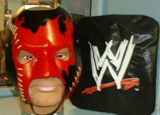 wwe officially licensed kane real leather replica mask time left