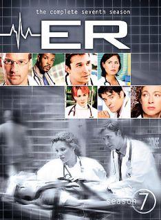 ER   The Complete Seventh Season DVD, 6 Disc Set