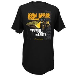John Deere Power to Move the Earth 544J Loader T Shirt M L XL 2X LP413