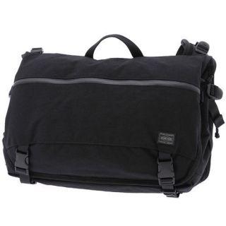 MESSENGER BAG(L) / PORTER JAM/Yoshida Bag BLACK,Best quality MENs Bag