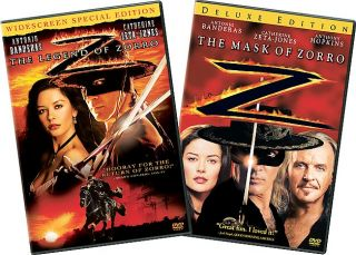 Legend of Zorro, The Widescreen Mask of Zorro Deluxe Edition 2 Pack