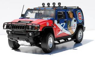 /DCP Chicago Cubs Diecast HUMMER H2 Truck / SUV 118   Zambrano NEW