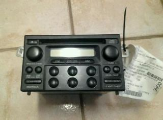 Newly listed 1998 2002 Honda Accord AM/FM Radio Cd Player with Theft