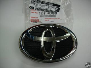 2007 2008 2009 toyota camry front grille emblem oem time