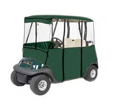 GOLF CART 3X4 DELUXE BUGGY COVER ENCLOSURE,GREEN END OF YEAR CLOSEOUT
