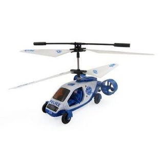 Car Remote Control RC Helicopter Gyro 5 Channel Police Air Patrol