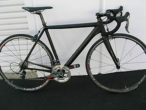CANNONDALE CAAD10 1 DURA ACE 700C 10 SPEED ROAD BIKE 52CM MATTE BLACK