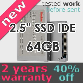 KingSpec 2 5 IDE PATA SSD MLC Hard Drive 44pin 64GB New