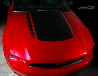 Mustang 2010 Up Hood Scoop Stripe Decal Spears 2011
