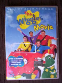 The Wiggles Movie 20th Century Fox DVD 80 Minutes 7 New Songs